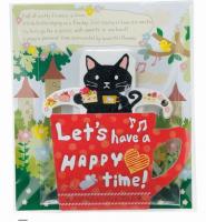 黒猫ちゃんが仲間入り♪「猫のティーバッグ」