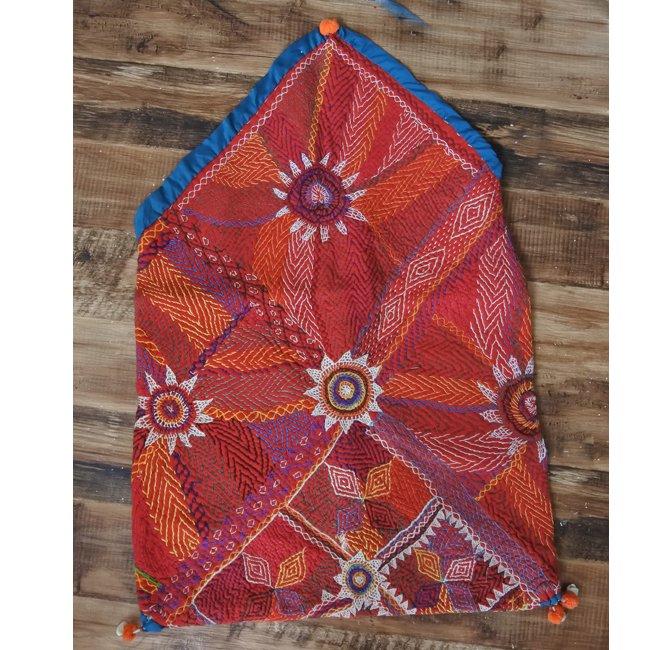 バンジャラ族 ヴィンテージ刺繍 布袋 A