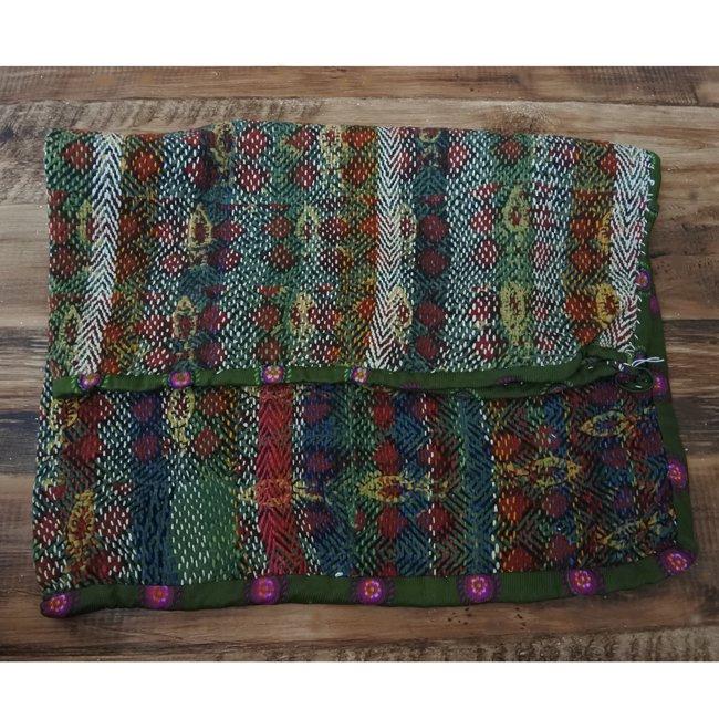 バンジャラ族 ヴィンテージ刺繍 布袋 D