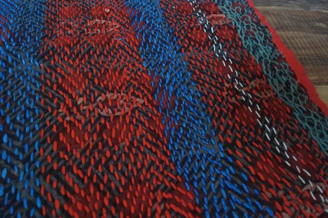 バンジャラ族 ヴィンテージ刺繍 布袋 E