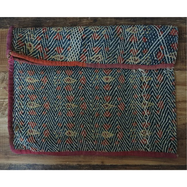 バンジャラ族 ヴィンテージ刺繍 布袋 G