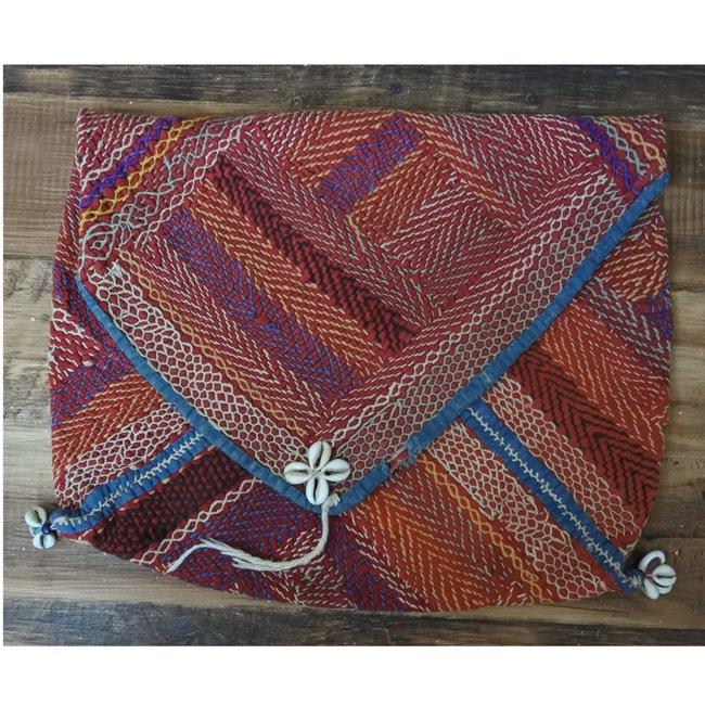 バンジャラ族 ヴィンテージ刺繍 布袋 H
