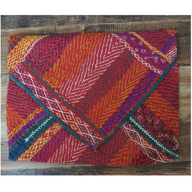 バンジャラ族 ヴィンテージ刺繍 布袋 J