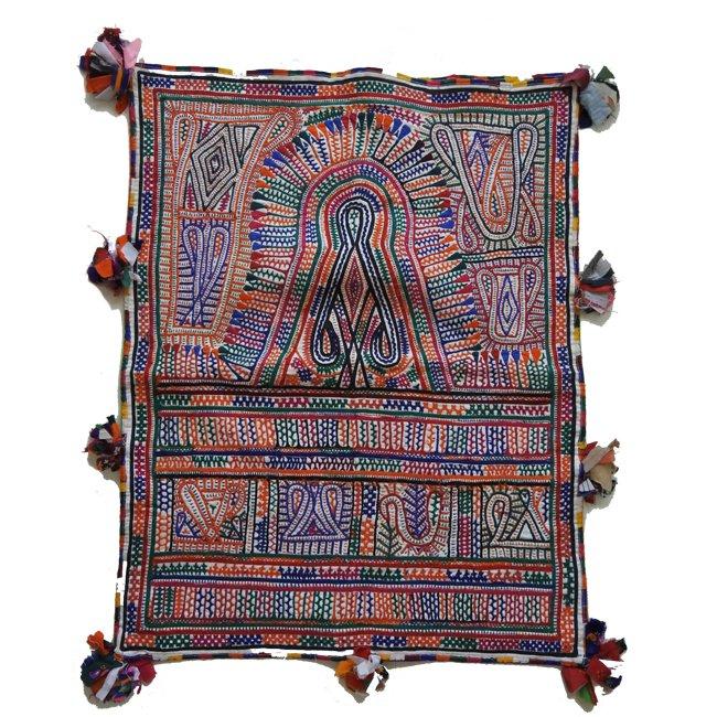 ラバリ族 ヴィンテージ刺繍 婚礼バッグ  C