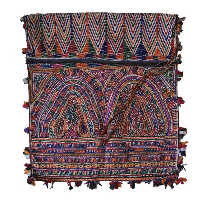 ラバリ族 ヴィンテージ刺繍 婚礼バッグ  B