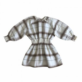 30% off Liilu ワンピース smocked mona dress