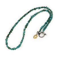 TURQUOISE STONE NECKLACE ターコイズストーンネックレス FLUI フルイ