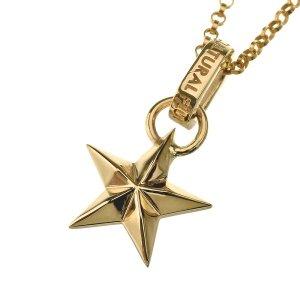 GOLD EDGE STAR PENDANT ゴールドエッジスターペンダント FLUI フルイ