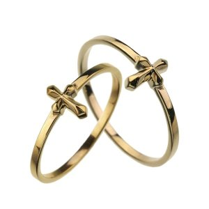 GOLD MOTIF COLLECTION PAIR RING ゴールドモチーフコレクションペアリング FLUI フルイ