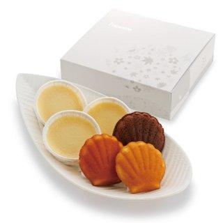 北海道ヨーグルトチーズケーキ&マドレーヌ詰め合せ【6個入】
