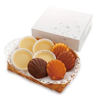 北海道ヨーグルトチーズケーキ&マドレーヌ詰め合せ【8個入】
