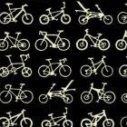梨園染 手ぬぐい 自転車