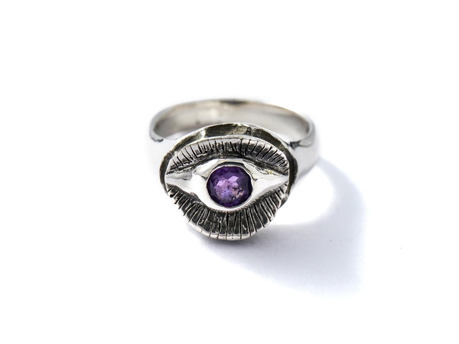 <img class='new_mark_img1' src='https://img.shop-pro.jp/img/new/icons8.gif' style='border:none;display:inline;margin:0px;padding:0px;width:auto;' />Amethyst Ring F