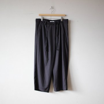 DOKODO online store - mimie | ミミエ 伊賀組紐のワイドイージーパンツ #c.gray