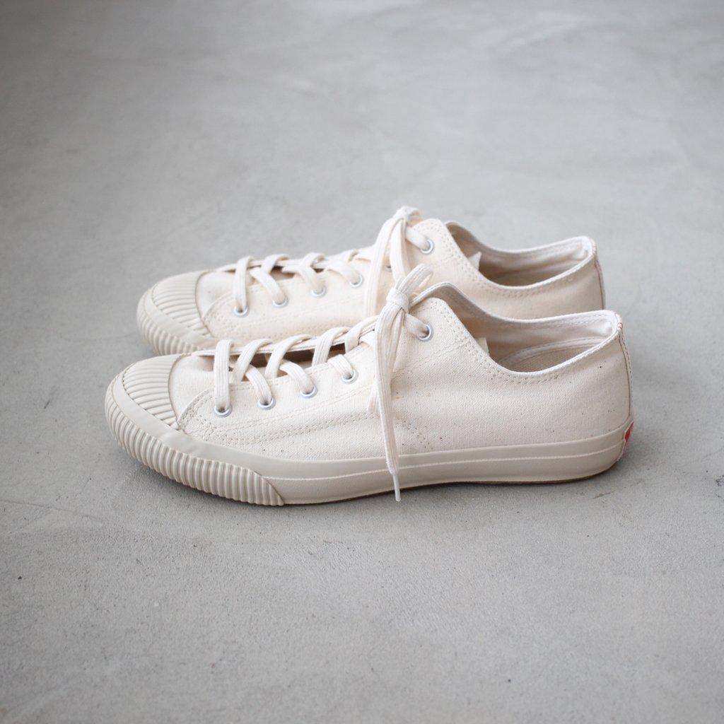 SHELLCAP LOW #KINARI/OFF WHITE [PRAS-01-001]