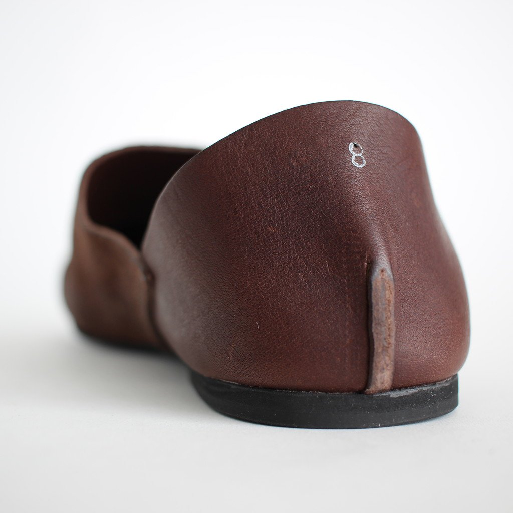 ROOM SHOES PIPPO #D.BROWN [AU-01-10]