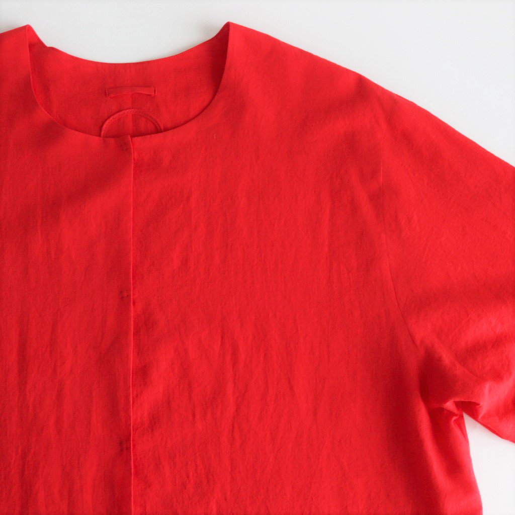 QUELLIER COTTON SHIRTS #RED [A232181TS310]