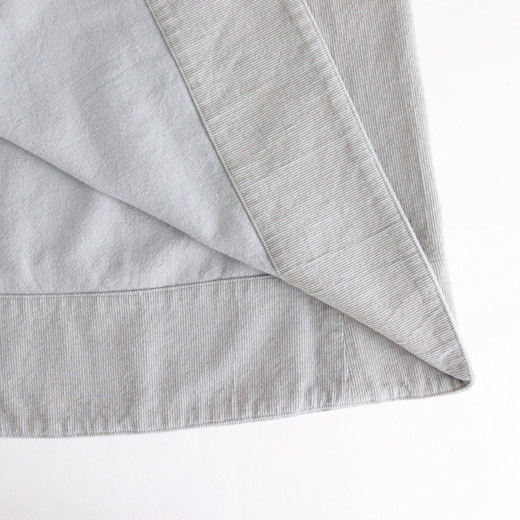 コーデュロイジャンパースカート #ICE GRAY [192-569]