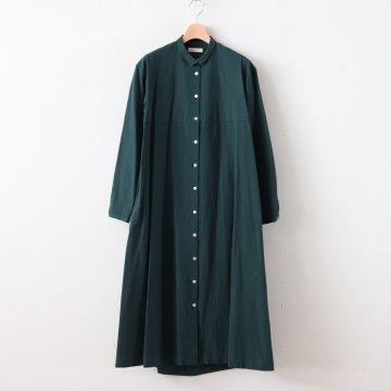 susuri   ススリ - ヘムレンシャツワンピース #BOTTLE GREEN [19-259]