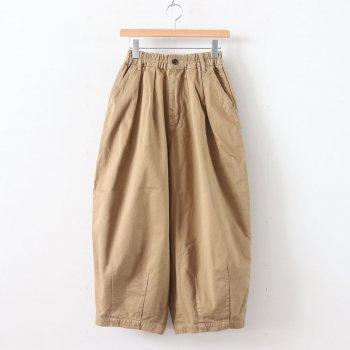 HARVESTY | ハーベスティ - CIRCUS PANTS CHINO CLOTH GARMENT DYED #KHAKI BEIGE [A11709]