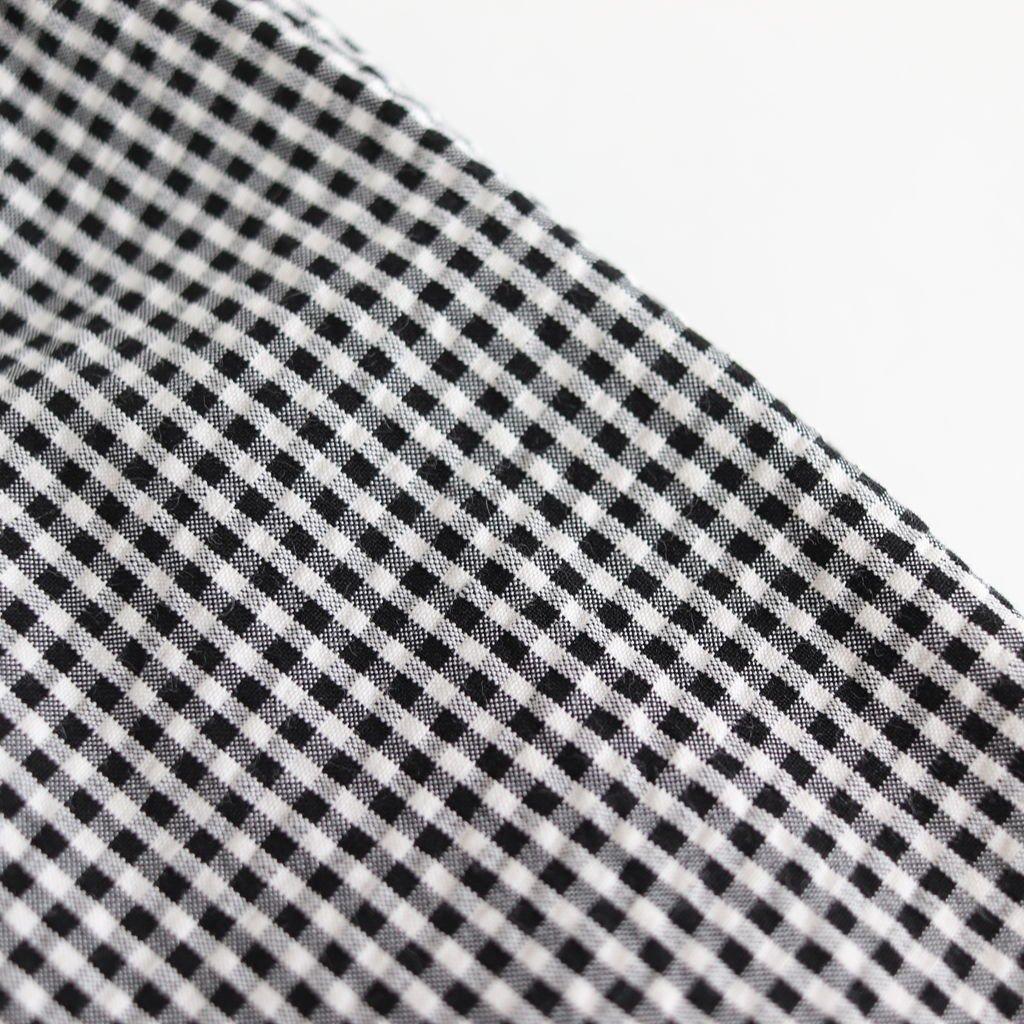 ARNAUD COTTON SHIRTS #WHITE/BLACK CHECK [A232161TS215]