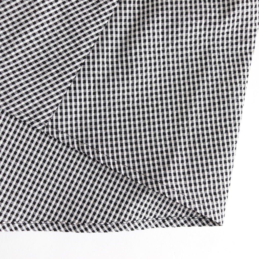 VARDA COTTON OP #WHITE/BLACK CHECK [A232141TD132]