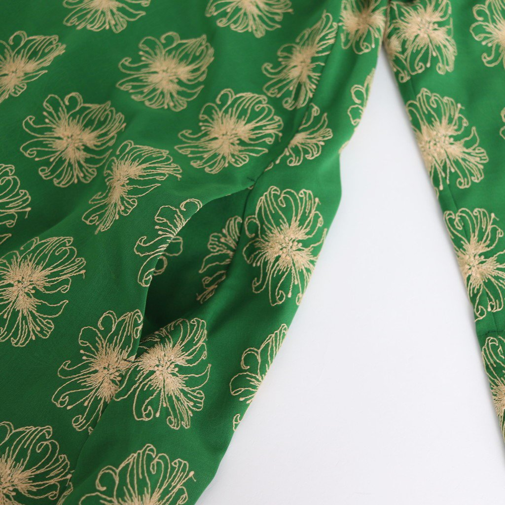 WIND/ONE-PIECE #GREEN [20SS11-1]