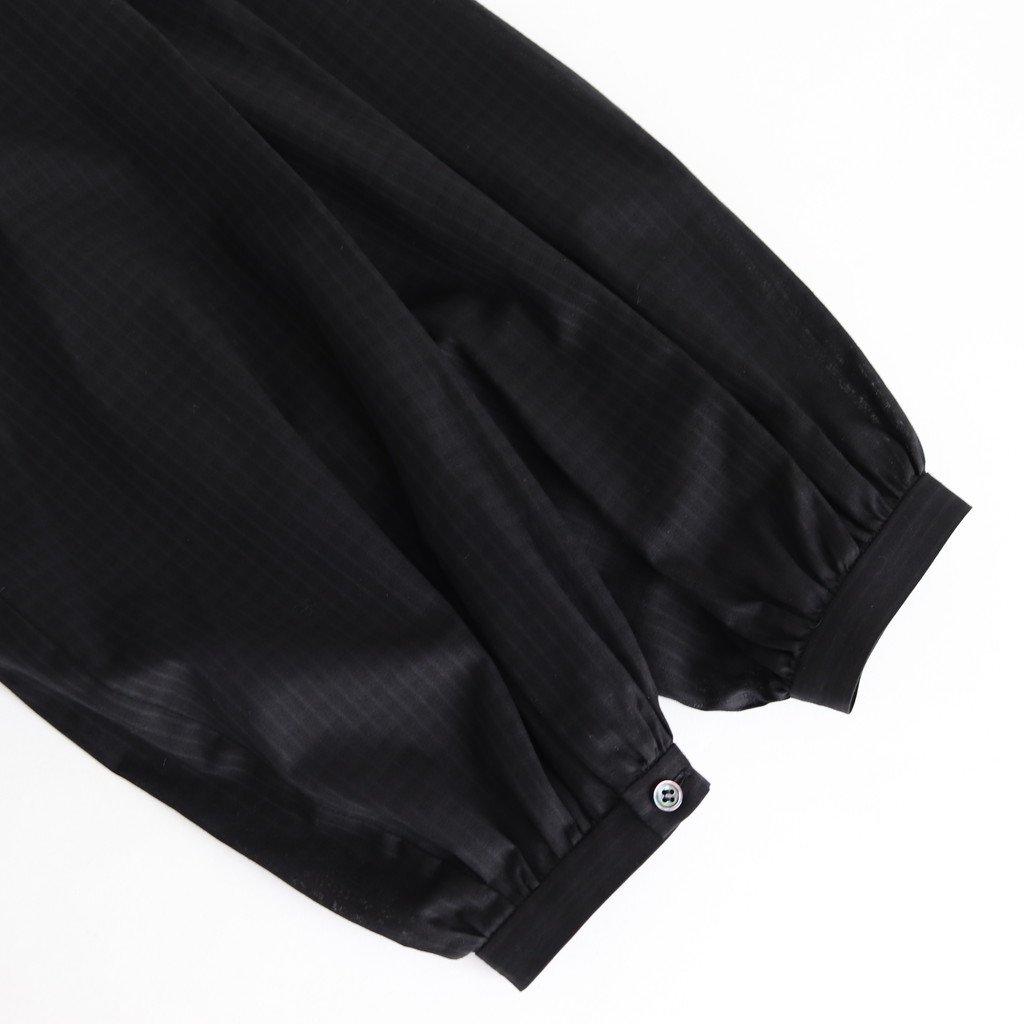 ラインブラウス #BLACK [20-409]