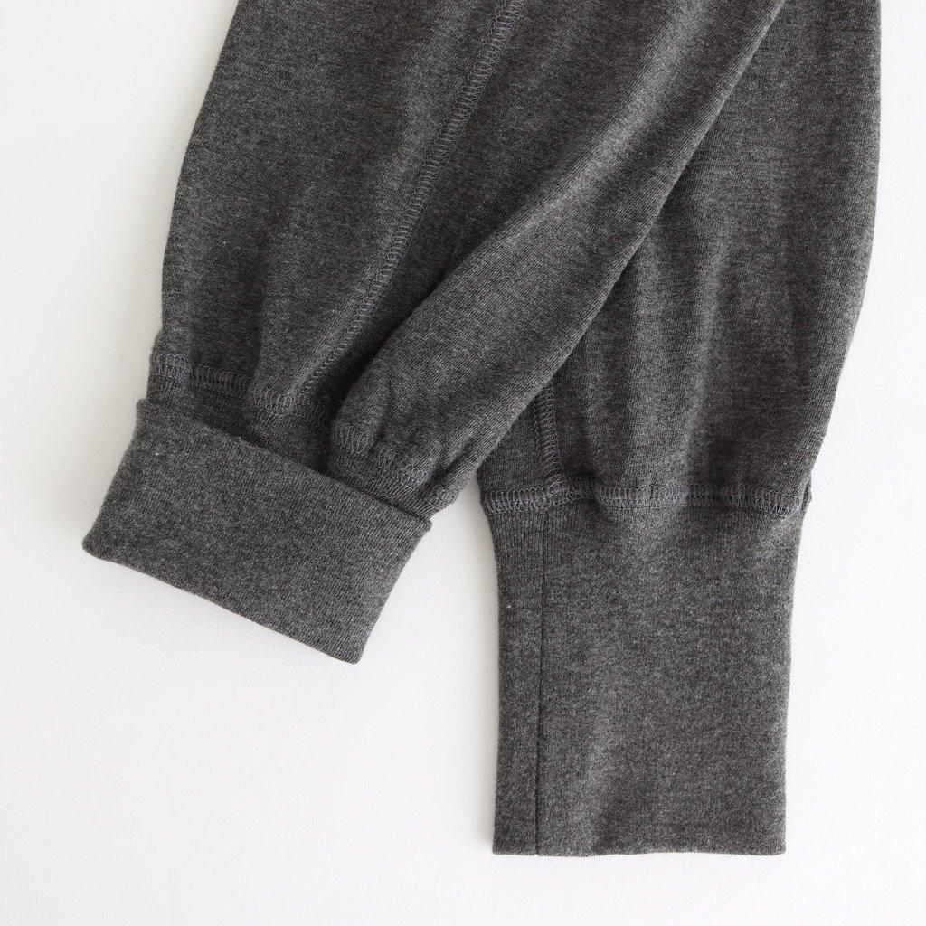 JERSEY GYM PANTS #CHARCOAL [no.4139]