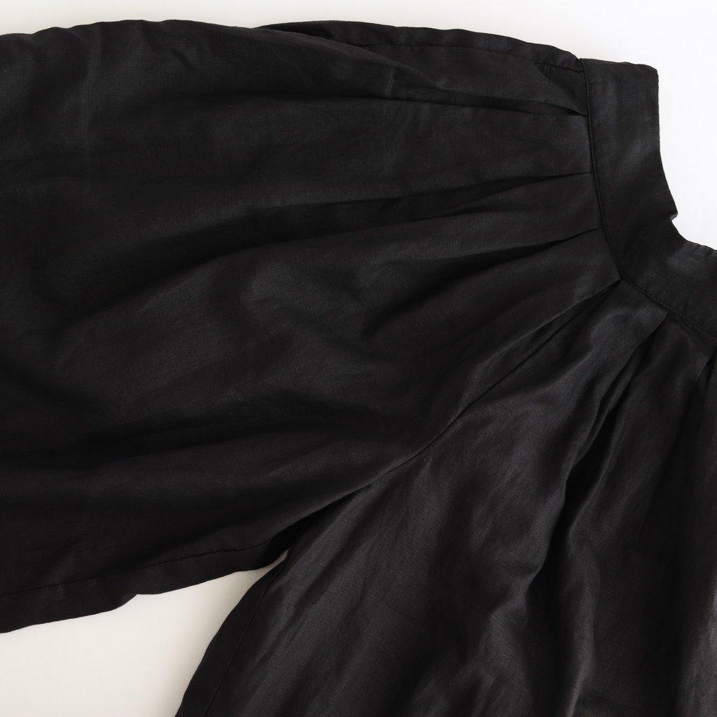 CIRCUS CULOTTES 1/40 IRISH LINEN #BLACK [A22006]
