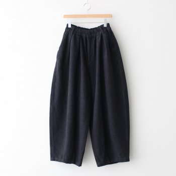 HARVESTY | ハーベスティ - CIRCUS PANTS COTTON MELTON #CHARCOAL [A12014]