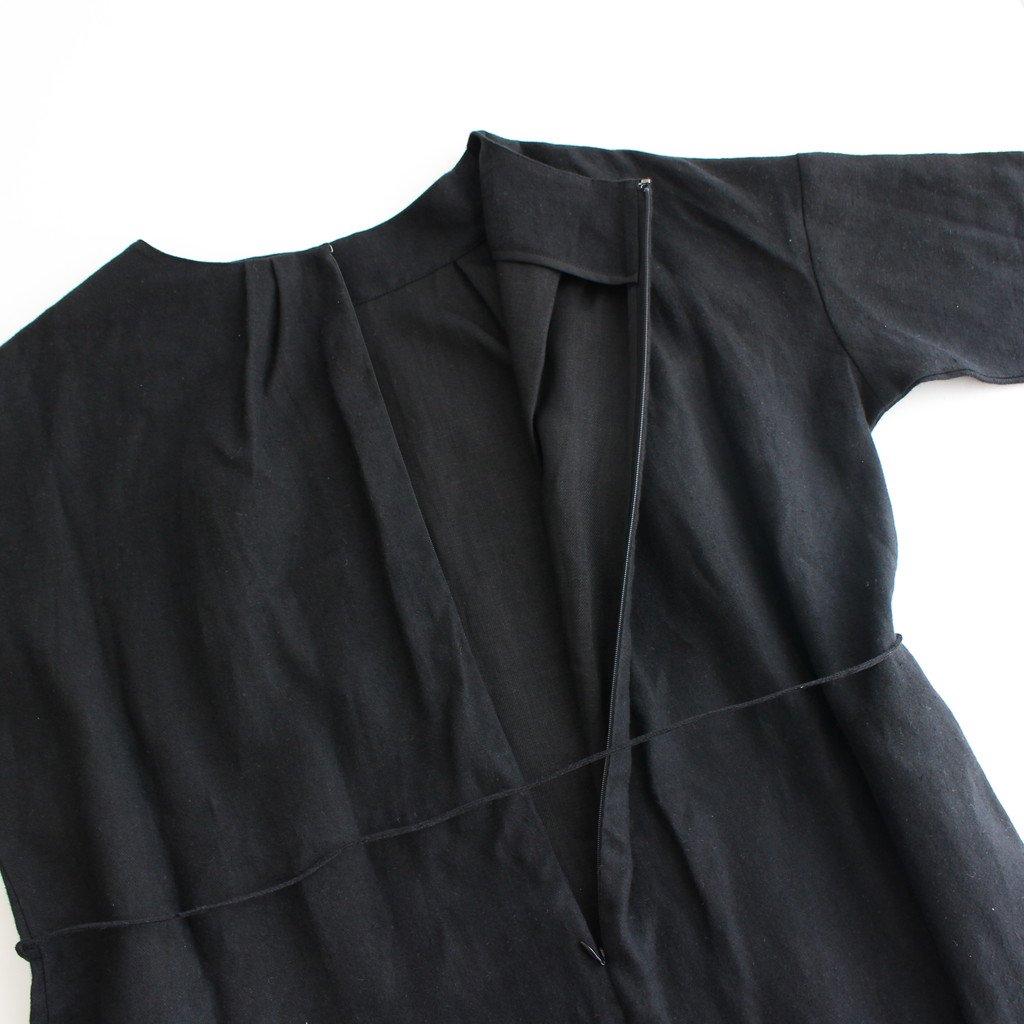 ボートネックワンピース #BLACK [TH20W0007]