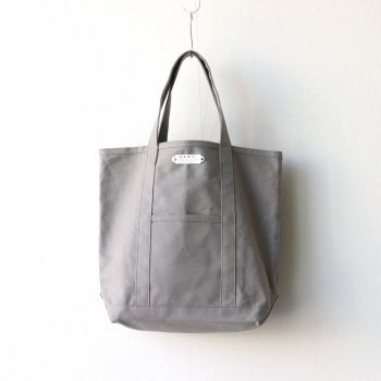 R&D.M.Co- OLDMAN'S TAILOR | オールドマンズテーラー - TOTE BAG TALL #GRAY [no.3198]