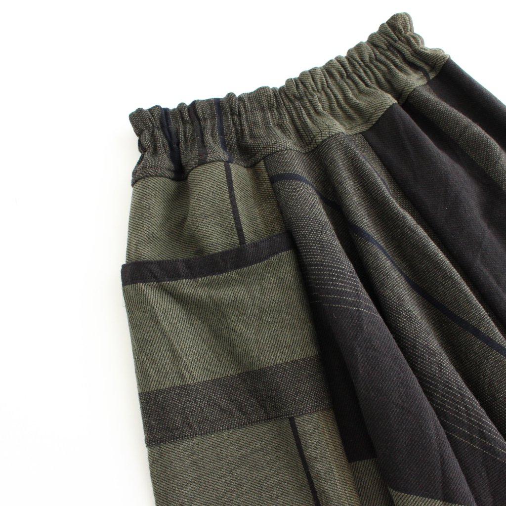 TARUN PANTS LONG WOOL70% COTTON30% #A [21A-TPL-001]