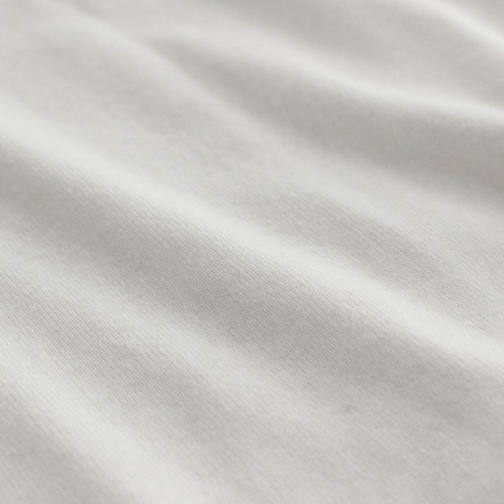 エーゲ海オーガニックフライス モックネックPO #010 シロ [GT204CT032]