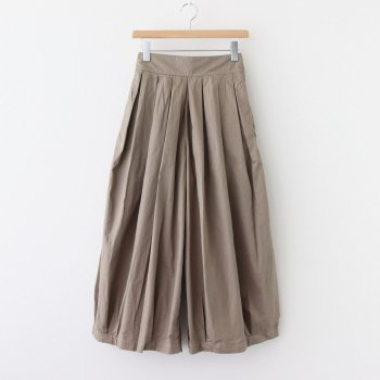 HARVESTY | ハーベスティ _ CIRCUS CULOTTES 40 COMBED TWILL #LIGHT OLIVE [A21609]