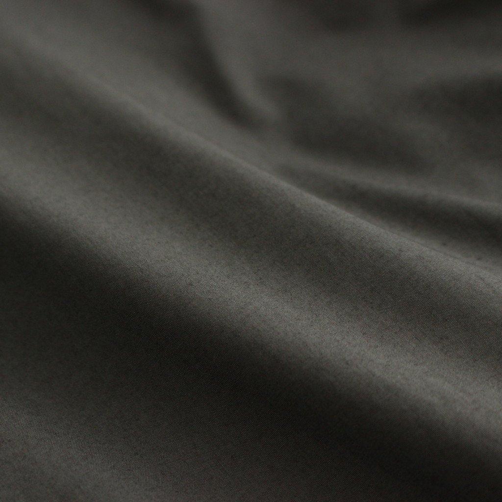 スビンコットン タイプライター バルマカンコート #チャコールグレー [COLM-105M]