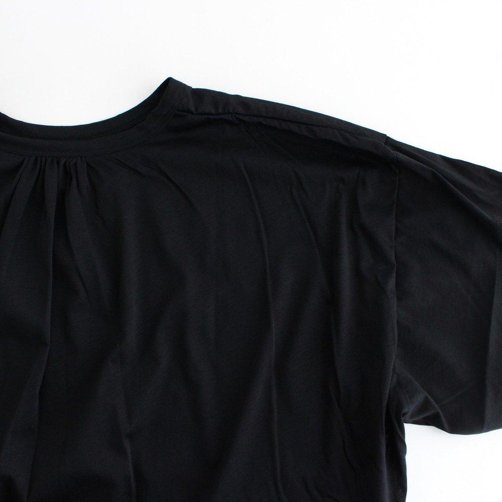 WIDE T-SHIRT #ブラック [TLF-221-cs001-a]