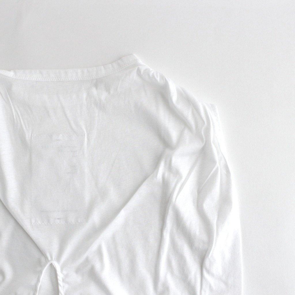 STRING PEPLUM CUT-SEWN #ホワイト [TLF-221-cs002-a]