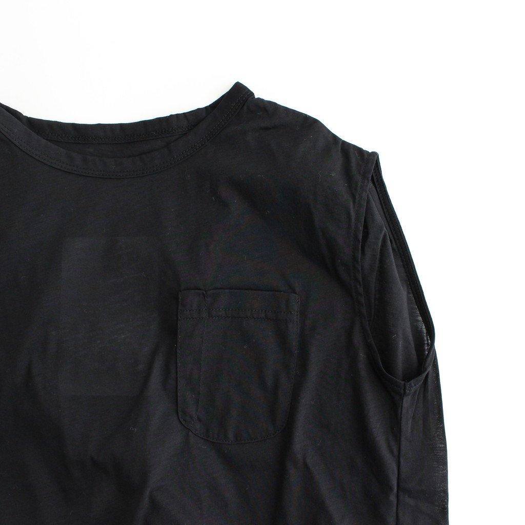 STRING PEPLUM CUT-SEWN #ブラック [TLF-221-cs002-a]