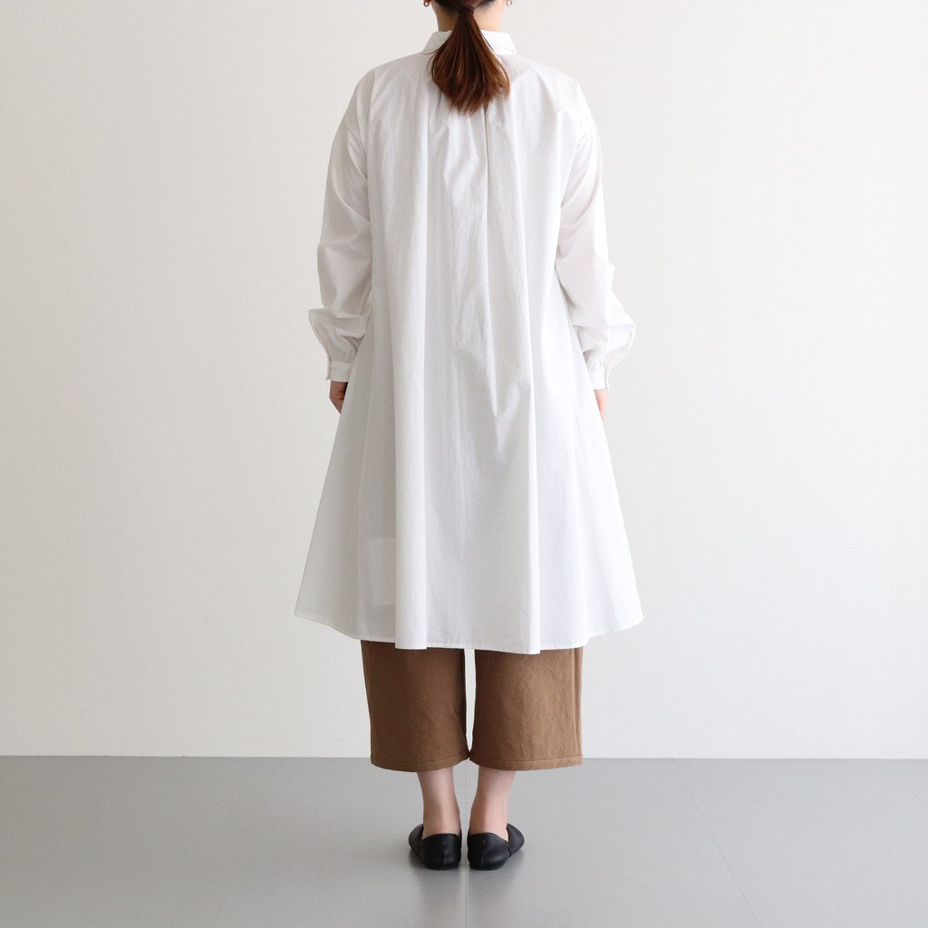 春霞む CLASSIC SHIRT DRESS #オフホワイト [TLF-121-op005-g]