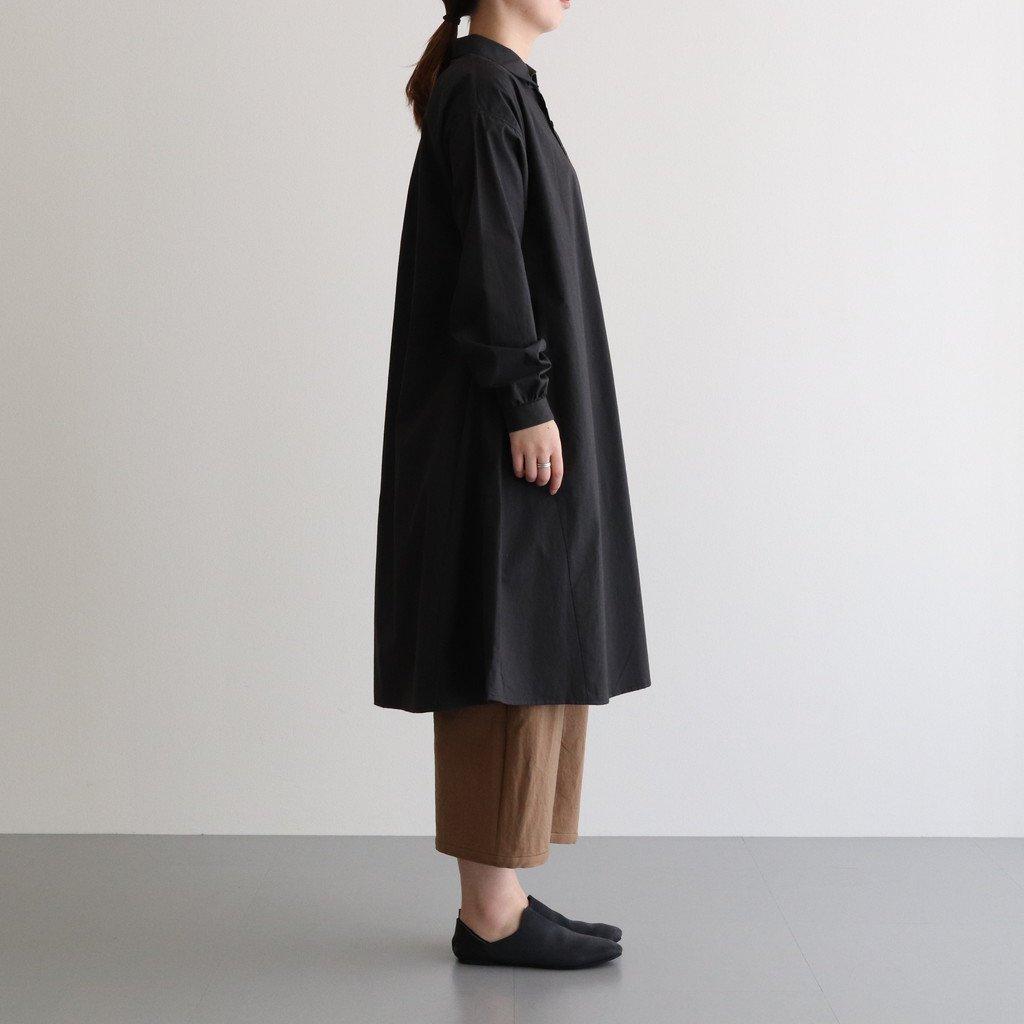 春霞む CLASSIC SHIRT DRESS #スミクロ [TLF-121-op005-g]