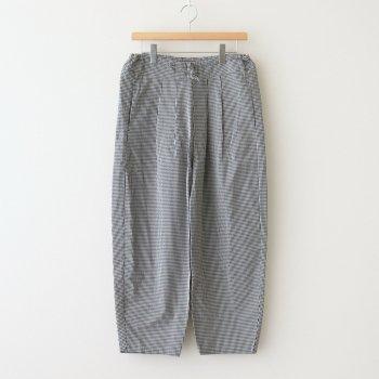 Atelier d'antan | アトリエダンタン _ BAROUH PANTS #WHITE/BLACK CHECK [A232141PP131]