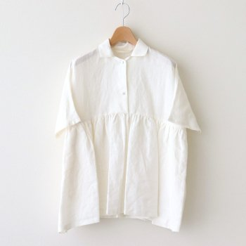 Atelier d'antan | アトリエダンタン _ BRETON SHIRT #WHITE [A232201TS401]