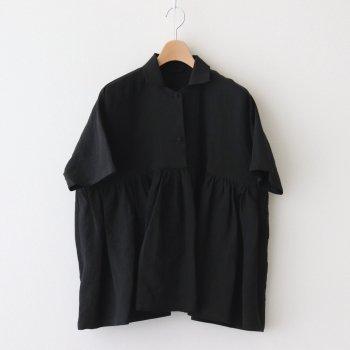 Atelier d'antan | アトリエダンタン _ BRETON SHIRT #BLACK [A232201TS401]