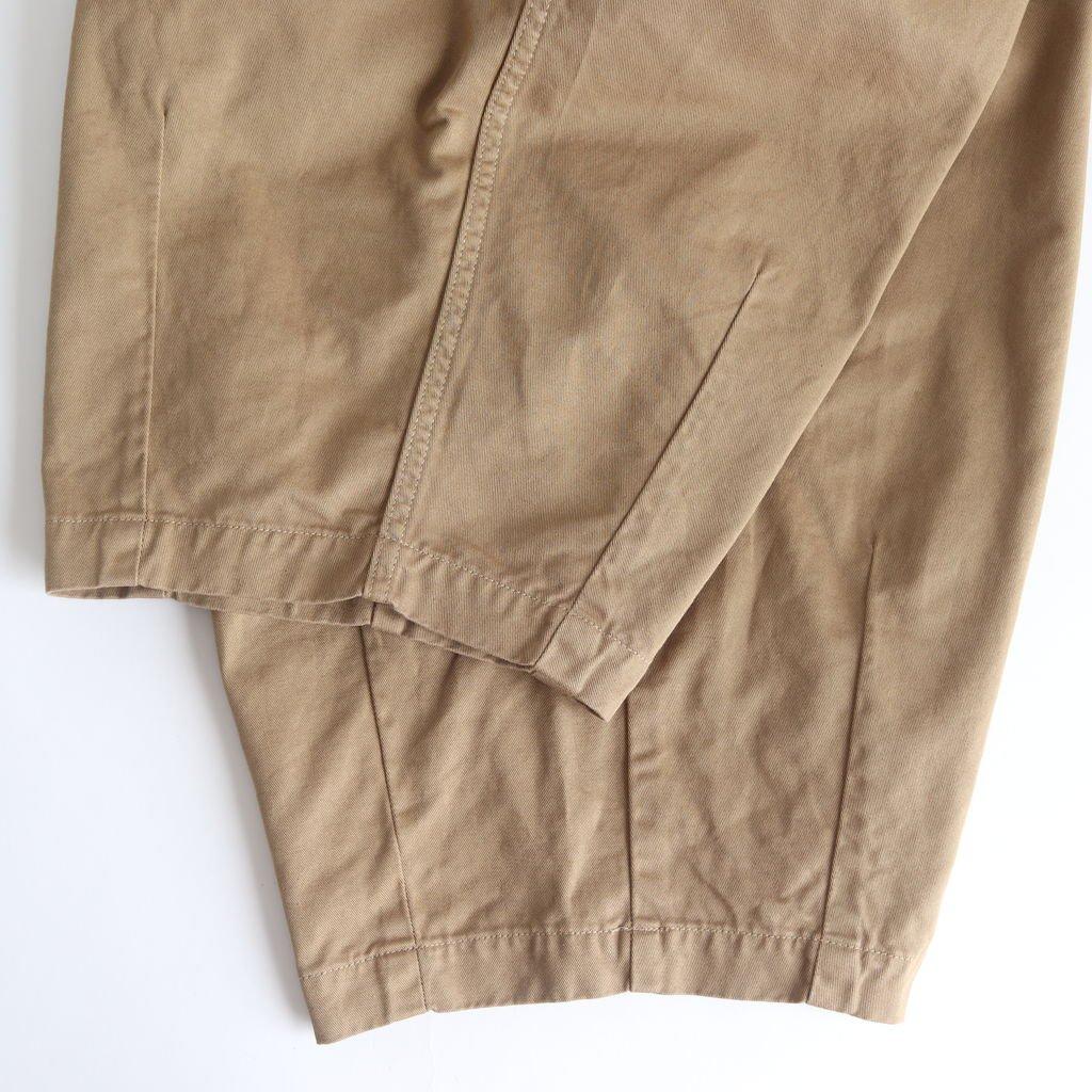 CIRCUS PANTS CHINO CLOTH GARMENT DYED #KHAKI BEIGE [A11709]