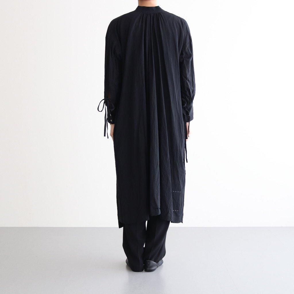 霞立つ朝 BACK CACHE-COEUR DRESS #ブラック [TLF-221-op003-i]