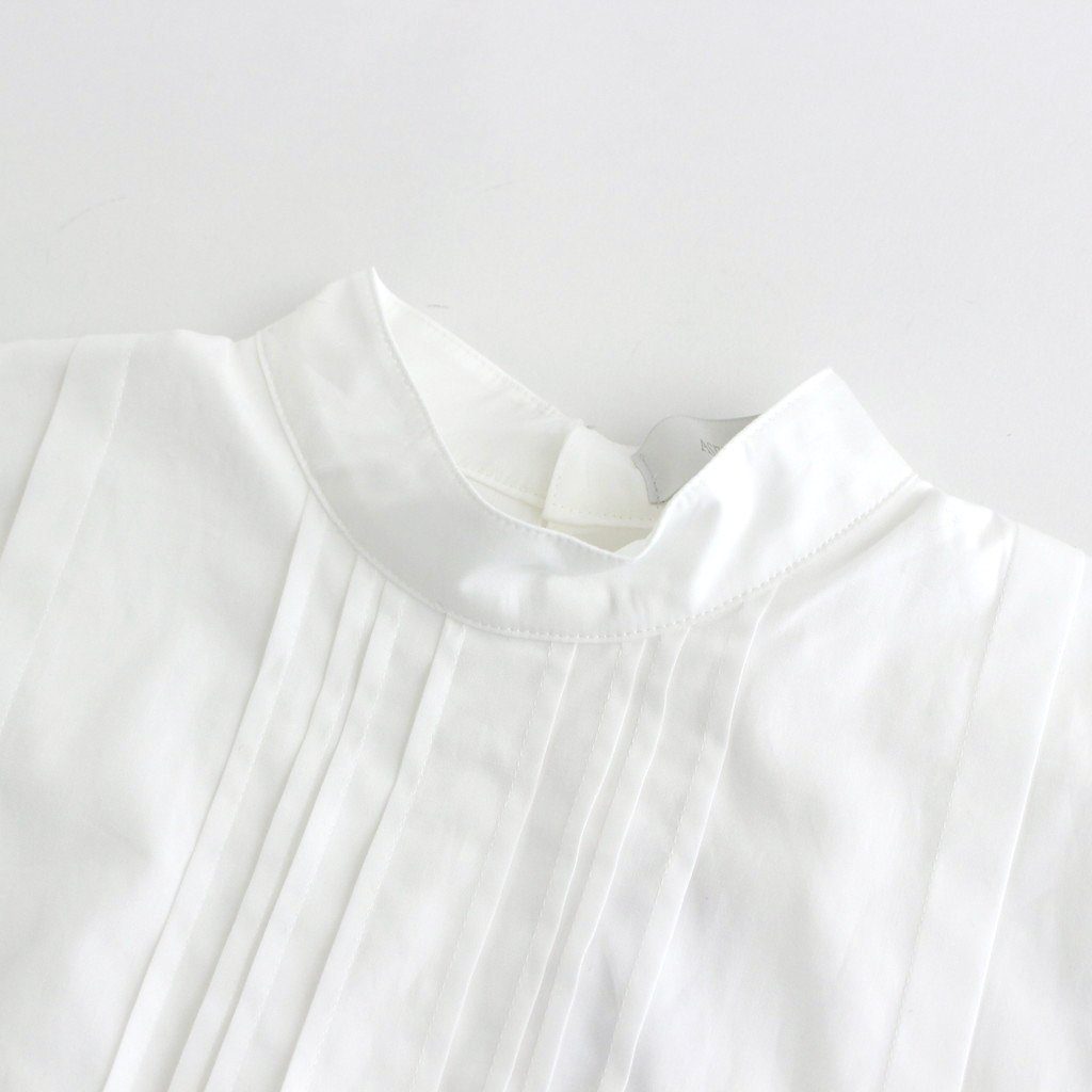 INSECT EMBROIDERY CLASSIC BLOUSE #WHITE [211603]
