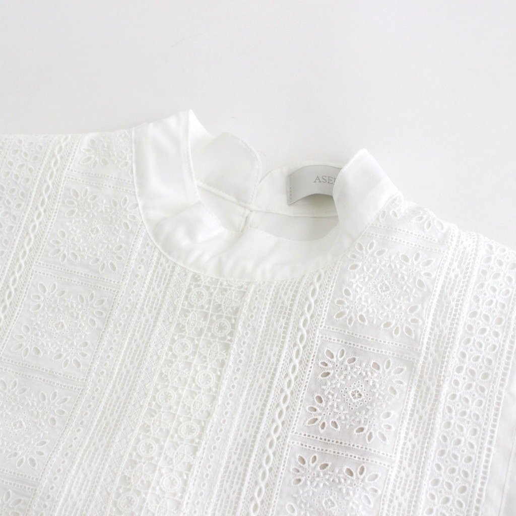 INSECT REPELLENT CLOTH CLASSIC BLOUSE #WHITE [211604]