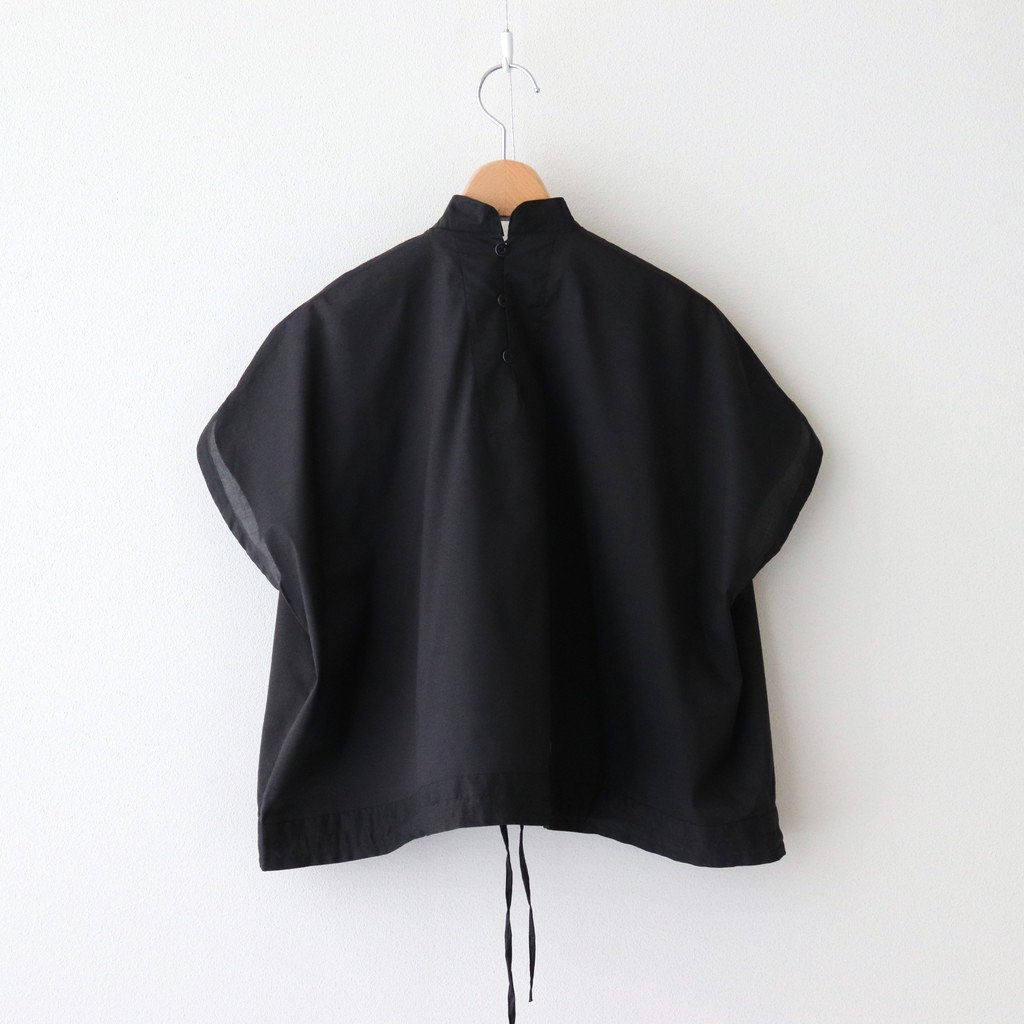 INSECT REPELLENT CLOTH CLASSIC BLOUSE #BLACK [211604]